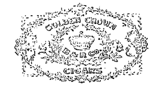 mark for GOLDEN CROWN CIGARS B & R CO., trademark #70026468