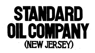 mark for STANDARD OIL COMPANY (NEW JERSEY), trademark #71158011