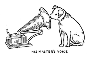 mark for HIS MASTER'S VOICE, trademark #71195205