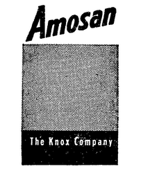 mark for AMOSAN THE KNOX COMPANY, trademark #71416803