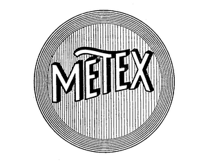 mark for METEX, trademark #71548974