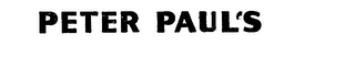 mark for PETER PAUL, trademark #71563359