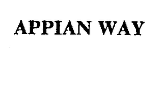 mark for APPIAN WAY, trademark #71643481