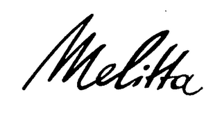 mark for MELITTA, trademark #71686988