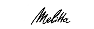 mark for MELITTA, trademark #72025588