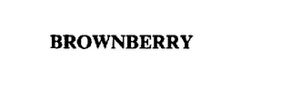 mark for BROWNBERRY, trademark #72046281