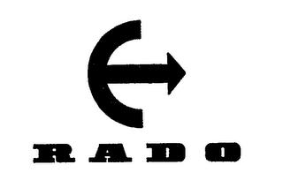 Rado товарный знак