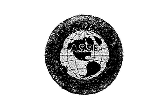 mark for A.S.S.E. AMERICAN SOCIETY OF SANITARY ENGINEERING, trademark #72222807