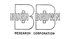 mark for BB BURR-BROWN RESEARCH CORPORATION, trademark #72227553