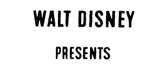 mark for WALT DISNEY PRESENTS, trademark #72237523