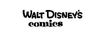 mark for WALT DISNEY'S COMICS, trademark #72239478