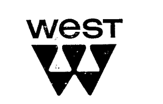 mark for WEST W, trademark #72280280