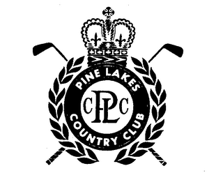 mark for PINE LAKES COUNTRY CLUB CPLC, trademark #72324304