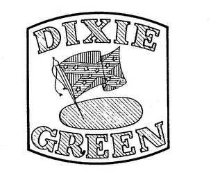 mark for DIXIE GREEN, trademark #73011860