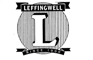 mark for LEFFINGWELL SINCE 1900 L, trademark #73029832