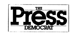 mark for THE PRESS DEMOCRAT, trademark #73142038