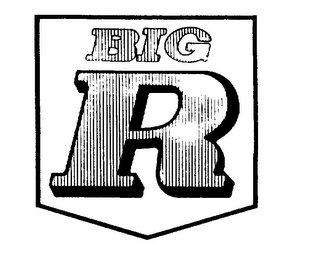 mark for BIG R, trademark #73167269