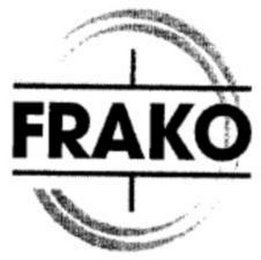 mark for FRAKO, trademark #73168607