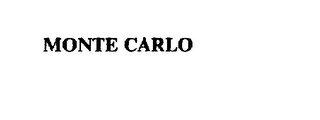 mark for MONTE CARLO, trademark #73185358