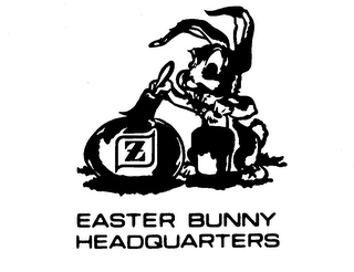 Easter Bunny Headquarters