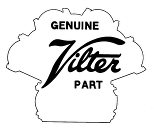 mark for GENUINE VILTER PART, trademark #73214164