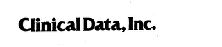 mark for CLINICAL DATA, INC., trademark #73221388