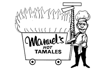 mark for MANUEL'S HOT TAMALES, trademark #73248198