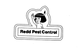 mark for REDD PEST CONSTROL, trademark #73253615