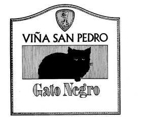 mark for VINA SAN PEDRO GATO NEGRO, trademark #73295433