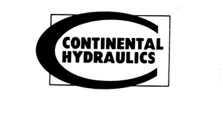 mark for CONTINENTAL HYDRAULICS, trademark #73314857