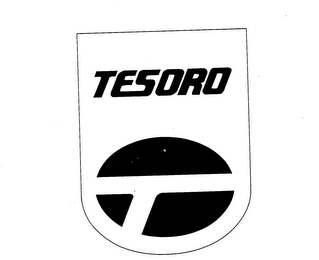 mark for TESORO, trademark #73367657