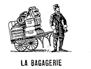 mark for LA BAGAGERIE, trademark #73400740
