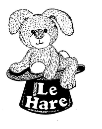 mark for LE HARE, trademark #73401265