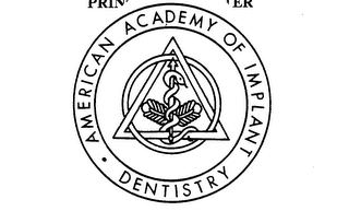 mark for AMERICAN ACADEMY OF IMPLANT DENTISTRY, trademark #73439694