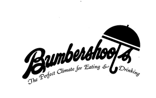 mark for BUMBERSHOOTS THE PERFECT CLIMATE FOR EATING & DRINKING, trademark #73448977