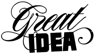 mark for GREAT IDEA, trademark #73501705
