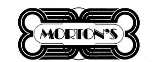 mark for MORTON'S, trademark #73535785