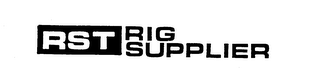 mark for RST RIG SUPPLIER, trademark #73585235