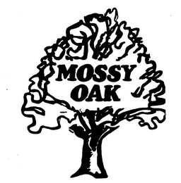 mark for MOSSY OAK, trademark #73600198