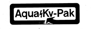 mark for AQUA KV-PAK, trademark #73621682