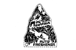 mark for MINI MOUNTAIN AUTO FRESHENER, trademark #73654724