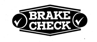 mark for BRAKE CHECK, trademark #73656090