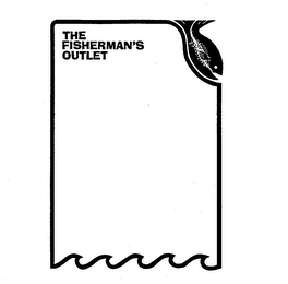 mark for THE FISHERMAN'S OUTLET, trademark #73656975