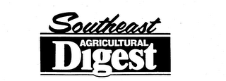 mark for SOUTHEAST AGRICULTURAL DIGEST, trademark #73666004