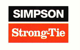 mark for SIMPSON STRONG-TIE, trademark #73706672