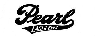 mark for PEARL LAGER BEER, trademark #73738882