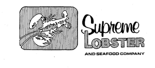 mark for SUPREME LOBSTER AND SEAFOOD COMPANY, trademark #73742525