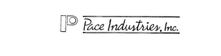 mark for P PACE INDUSTRIES, INC., trademark #73755654