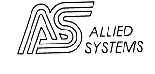mark for AS ALLIED SYSTEMS, trademark #73758566