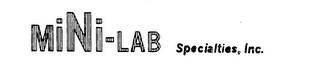 mark for MINI-LAB SPECIALTIES, INC., trademark #73770376